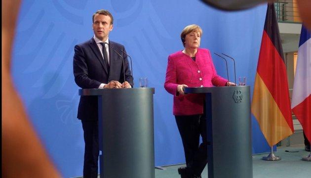 Меркель и Макрон обсудят с Путиным ситуацию в Сирии