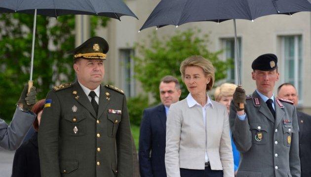 Полторак сказав, про що домовився з міністром оборони ФРН