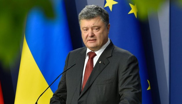 Poroschenko begrüßt Annahme neuen Sanktionspakets gegen Russland