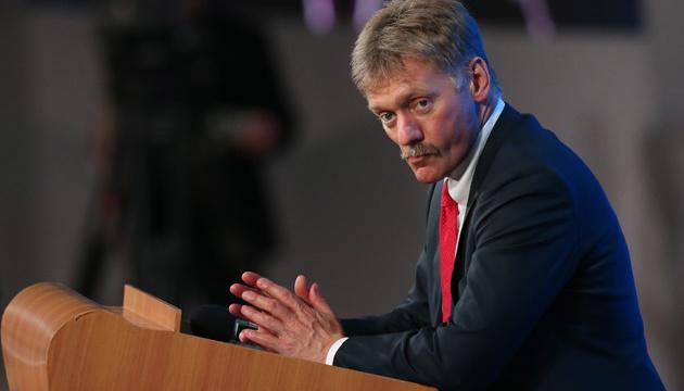 Пєсков не каже, скільки силовиків дала РФ у резерв для Білорусі