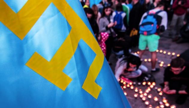 В Симферополе задержали участников акции к годовщине депортации крымских татар