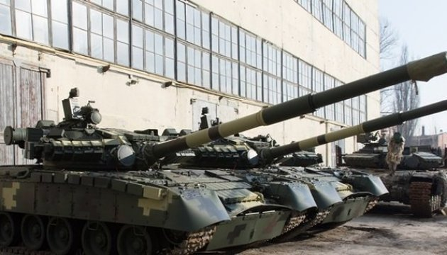 President: New batch of T-80 tanks to be sent to front line in Donbas. Video