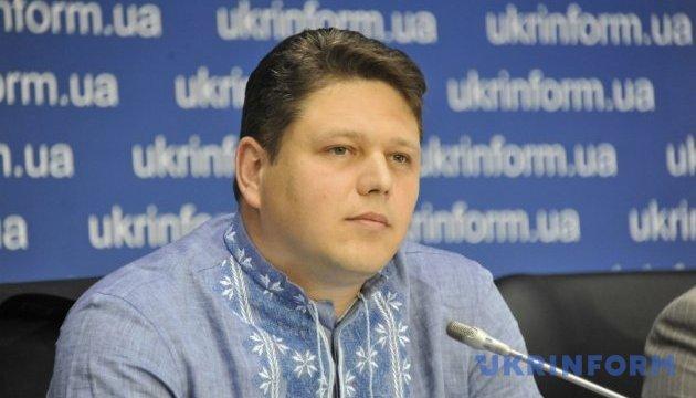 Прес-брифінг Голови Державної міграційної служби України Максима Соколюка щодо оформлення біометричних паспортів