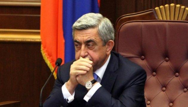 Экс-президенту Армении Саргсяну предъявили обвинение в коррупции