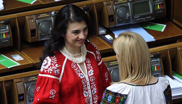 La Rada Suprême «brodée»: les députés se sont faits beaux