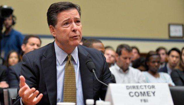 Втручання Росії у вибори: Екс-глава ФБР свідчитиме в Конгресі