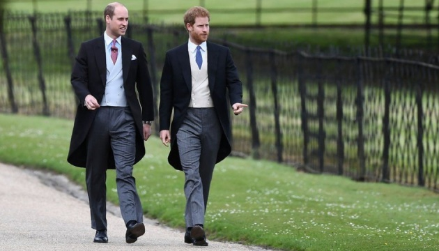 Принци Вільям і Гаррі оприлюднили заяву про брехню у ЗМІ