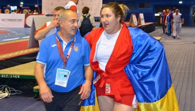 La ucraniana Sapsay, campeona de Europa de Sambo