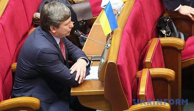 Руководитель для Нацбанка: БПП призывает фракции как можно скорее провести консультации