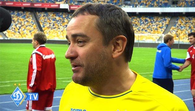 Андрей Павелко прокомментировал матч ветеранов между сборными Украины и Грузии
