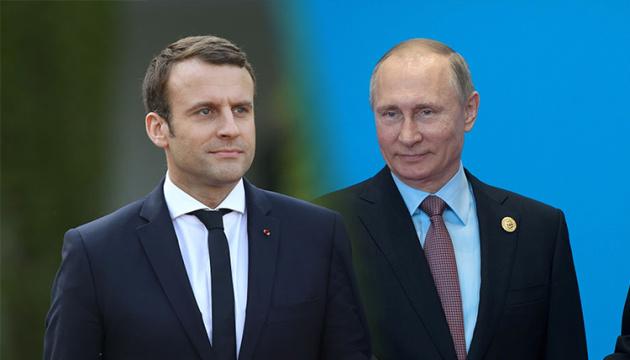 Макрон обіцяє вести з Росією «вимогливий діалог»