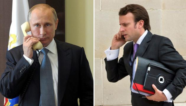 Макрон обсудил с Путиным перспективы