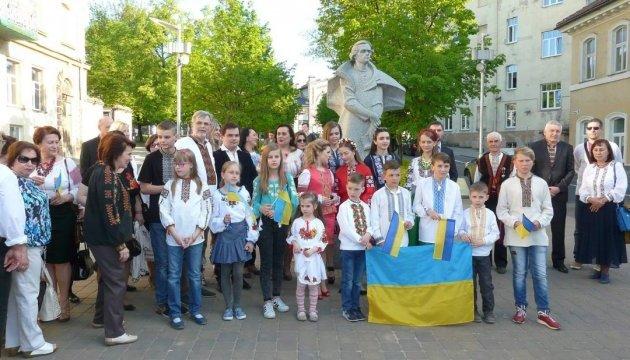 Українці Литви провели День вишиванки