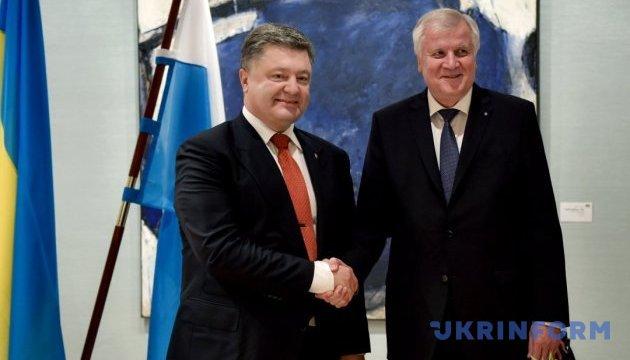 Прем'єр Баварії їде до Києва на зустріч із Порошенком - ЗМІ