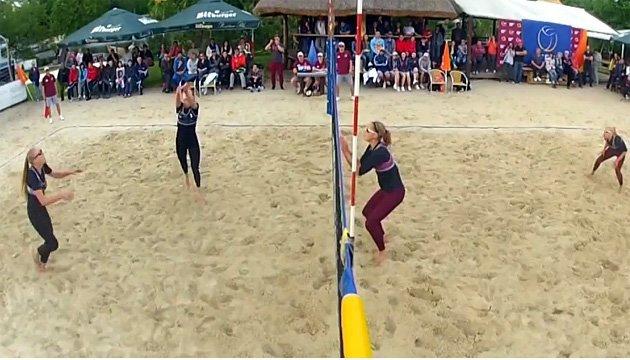 Пара з Литви виграла міжнародний чемпіонат з пляжного волейболу у Коропове