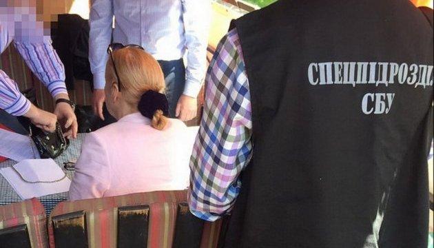 СБУ затримала на хабарі екс-суддю