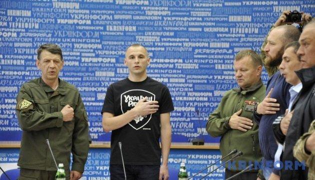 Національний комітет ветеранів війни, волонтерів та учасників АТО України. Підписання меморандуму
