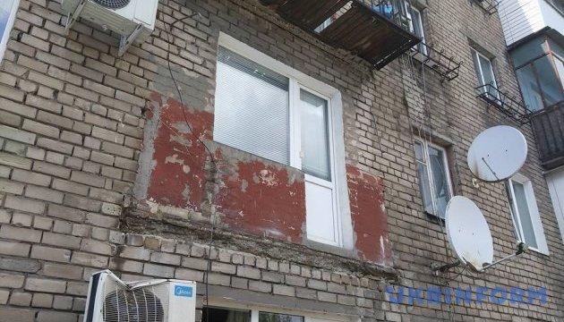 У центрі Запоріжжя на аптеку завалилися балкони