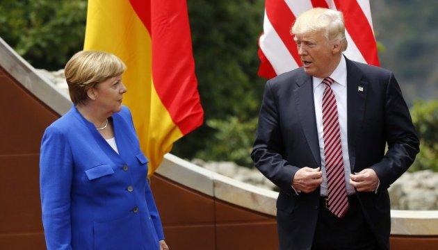 Merkel habla con Trump sobre Ucrania