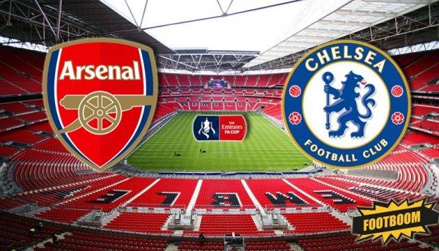 Сьогодні «Арсенал» - «Челсі» та інші фінали національних Кубків