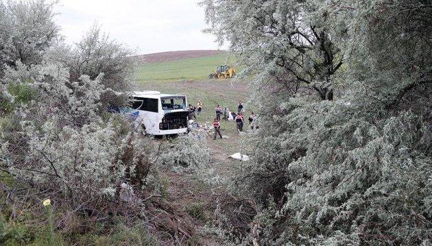 Біля Анкари перекинувся автобус: восьмеро загиблих, десятки поранених