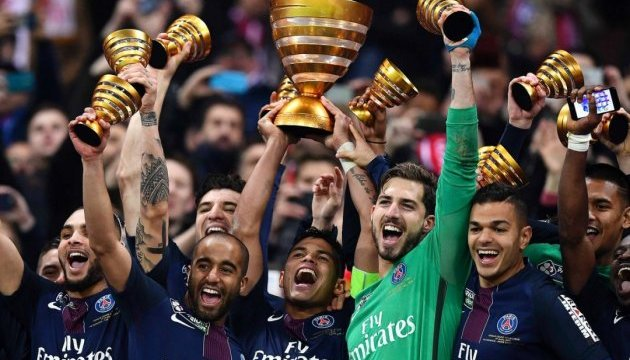 Кубок Франції здобуває «ПСЖ»
