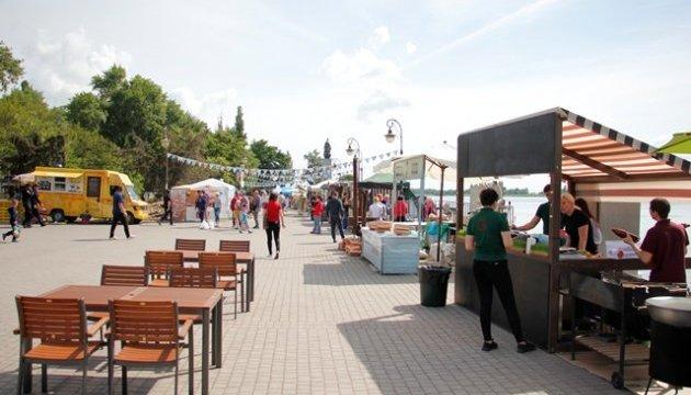 В Херсоне проходит фестиваль уличной еды и ярких эмоций