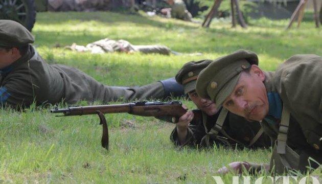 День Героїв у Франківську: українці та поляки відтворили бій з армією Будьонного