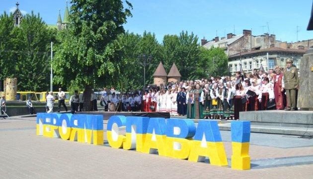 Львів'яни відзначили День Героїв урочистою ходою