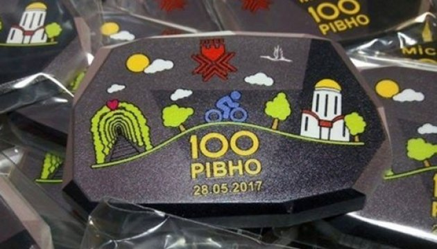 «Rivno 100»: course de vélo et visite touristique attirante de la région de Rivne