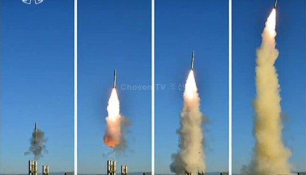 КНДР знову запустила свою ракету