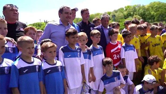 Андрій Павелко відвідав Музей футболу в Одесі