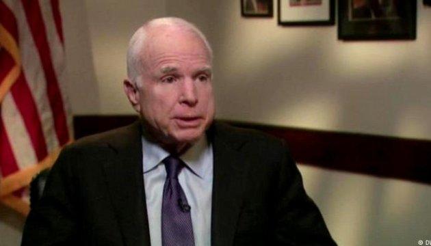 Маккейн вважає Росію більшою за ІДІЛ загрозою для світу