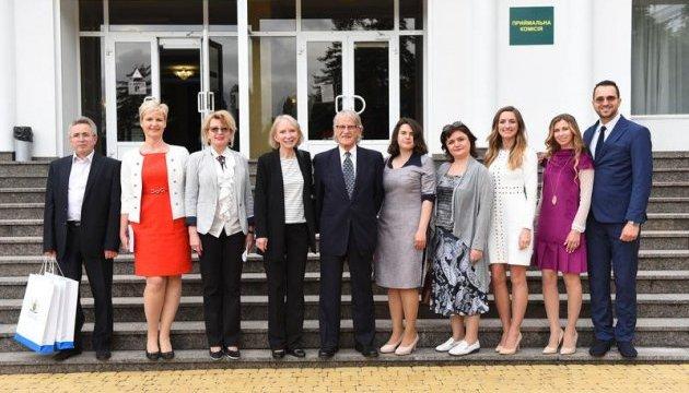 Лауреат Нобелівської премії Вернон Л. Сміт розпочав свій тур Україною