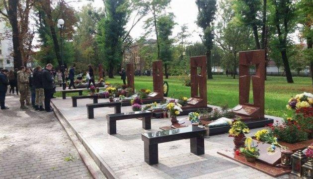 У Франківську вшанували пам'ять генерала  Кульчицького та його побратимів