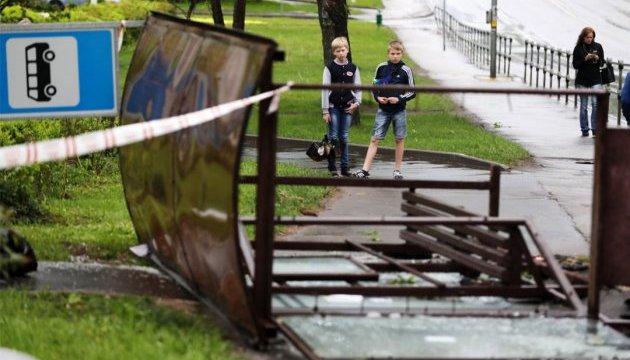 Кількість жертв урагану в Москві зросла до чотирнадцяти