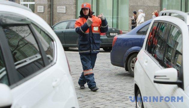 Новые зоны парковки и новые штрафы в Киеве