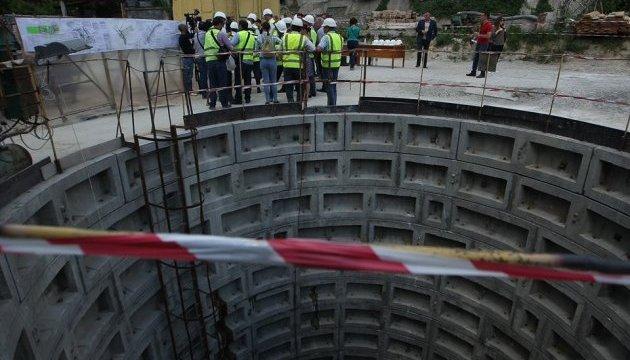 У Києві запустили другу нитку каналізаційного колектора