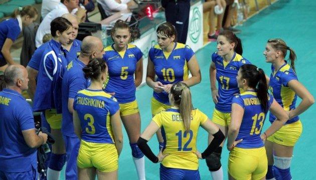 Украинки проиграли азербайджанкам в отборе на чемпионат мира по волейболу