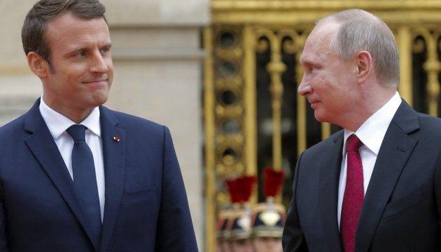 Макрон і Путін не домовилися – і це головне