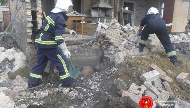 На Рівненщині обвалився будинок: двоє загиблих