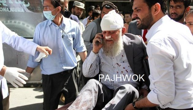 Біля президентського палацу в Кабулі пролунав вибух: десятки загиблих