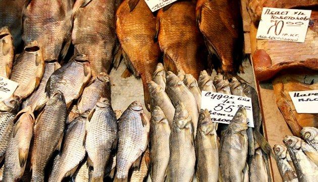 L'Ukraine importe 80% de poisson