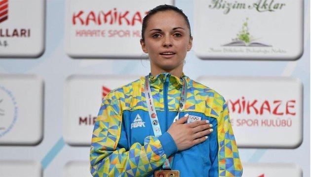 Каратистка Крива визнана кращою спортсменкою травня в Україні