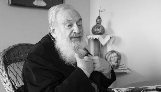 Порошенко і Гройсман висловили співчуття у зв'язку зі смертю Блаженнійшого Любомира