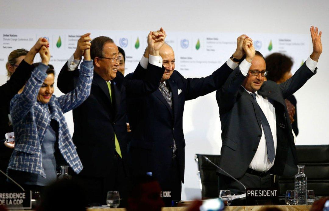 Макрон объявил оббезальтернативности плана поборьбе сизменением климата