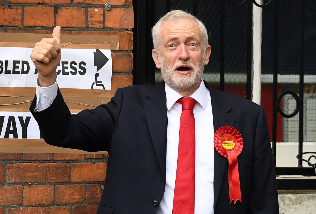 Лідер Лейбористської партії Джеремі Корбін