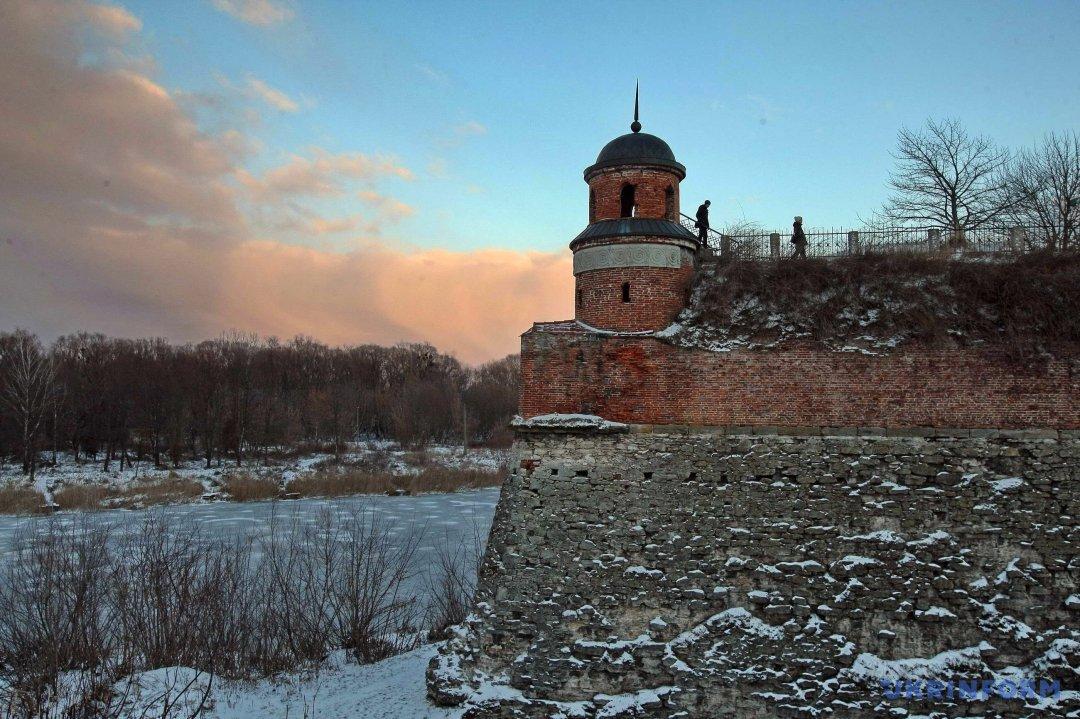 Дівоча вежа Дубенського замку. Фото: Володимир Тарасов/Укрінформ