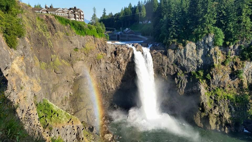 Водоспад Сноквалмі (Snoqualmie Falls) у штаті Вашингтон (США). Фото: snoqualmiefalls.com