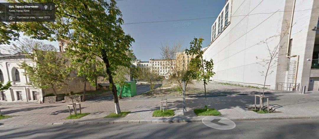 Бульвар Тараса Шевченка, 32-32А станом на травень 2015 року // Фото: Google maps